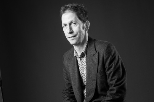 Writer-Director Tim Blake Nelson who also was in the ensemble as Adam Zarrow, son of Walter.