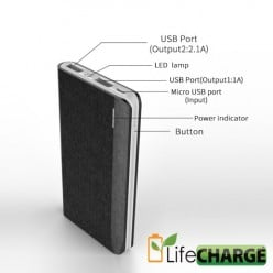 LifeCHARGE SlimLife 8,800 mAh Power Pack Review