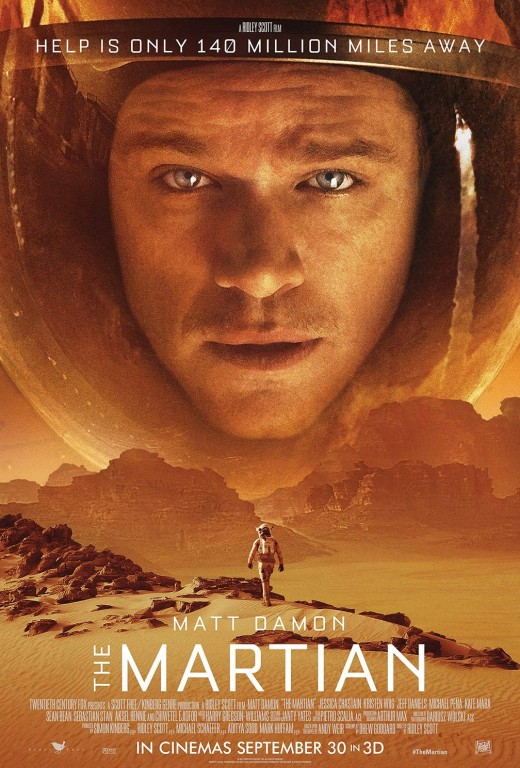 Matt Damon Stars. Directed by Ridley Scott.