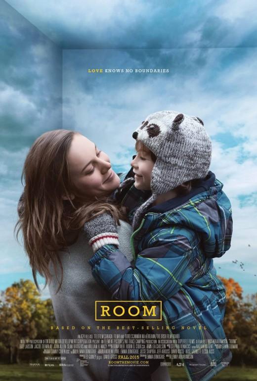 Brie Larson in 'Room'.
