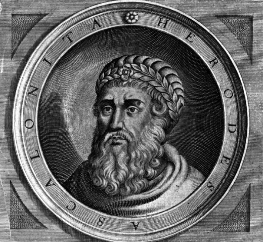 Herod the Great See page for author [Public domain], via Wikimedia Commons