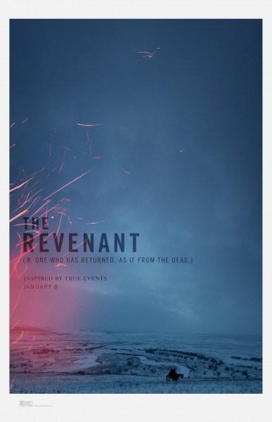 Best Director: The Revenant.