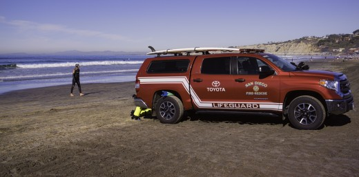 San Diego Fire Rescue Lifeguard