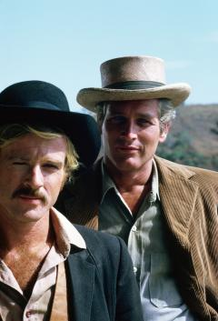 "Robert Redford and Paul Newman star in ""Butch Cassidy and the Sundance Kid"" (1969). The famous Western will be shown in select American cinemas on Jan. 17 and 20 in the same aspect ratio as when it was originally released in theaters."