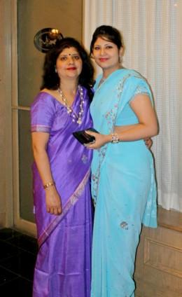 Mumma and I at the reception