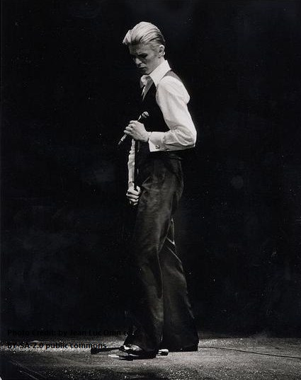 Running from February to May, 1976 the Station to Station Tour (also known as the Thin White Duke Tour or the White Light Tour), played in North America and Europe.  The stage contrasted a dark background with white sheets of iridescent light.