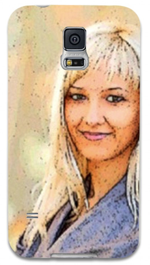 Final phone case with Comic strip Effect