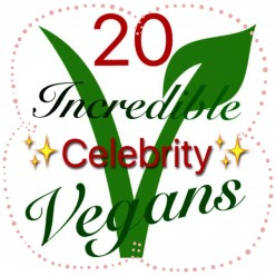 20 Incredible Celebrity Vegans