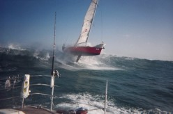 Sailing can be exciting!!