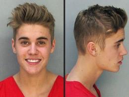 Justin Bieber's 2014 mugshot