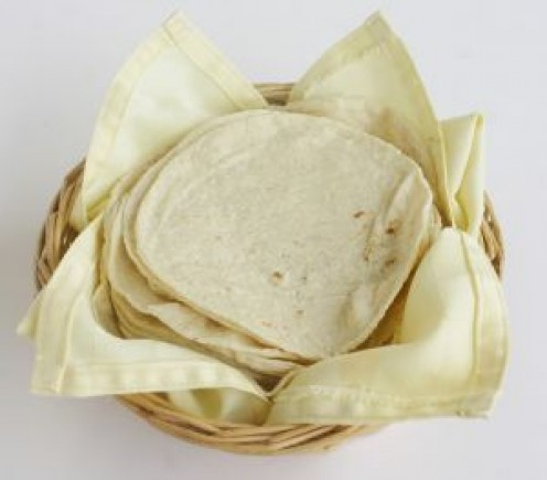 Flour tortillas for stewed beef fillings.