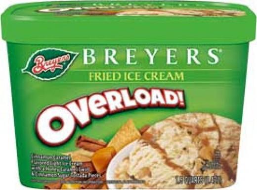 Fried Ice Cream flavored ice cream