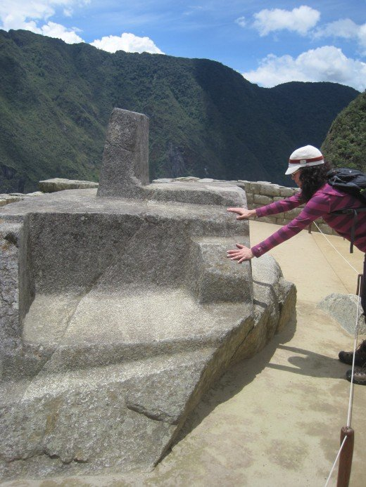 Intihuatana was a ritual stone and is believed to have been designed as an astronomic clock or calendar by the Incas.