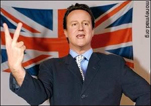 An Arrogant David Cameron.
