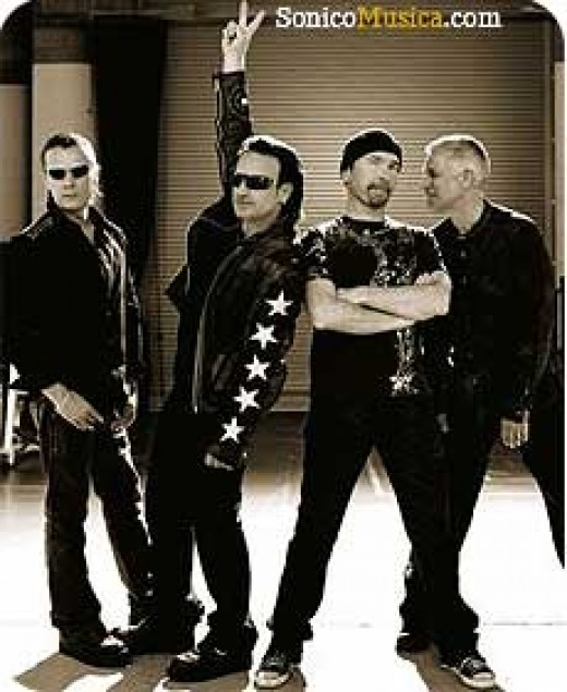 U2 Who Shared Their Stage With Eagles Of Death Metal.