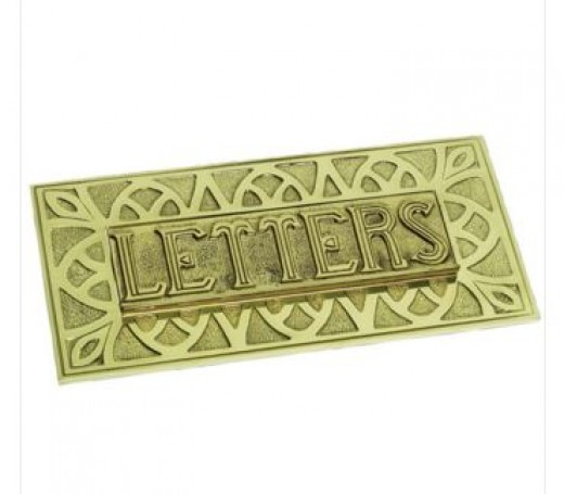 If you wanted to go for something particularly eye-catching, you could choose an embossed letter plate, such as this one.