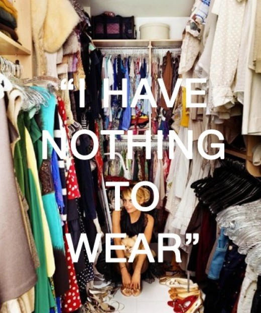 Do you really have nothing to wear? You probably have more than you think.