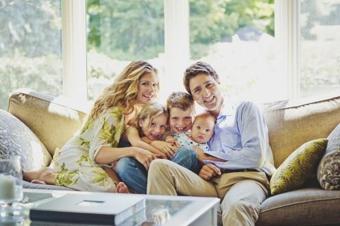 The Grégoire-Trudeau family