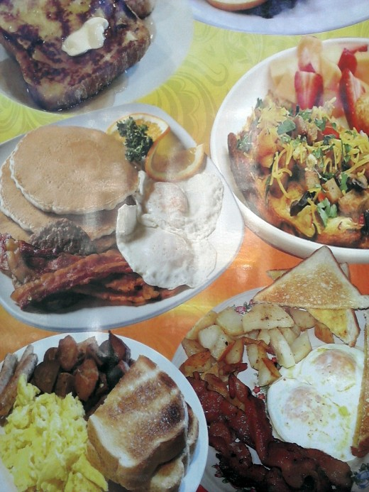 Food Poster on Local Neighborhood Corner Store Window, Ocean Hill, Brooklyn, New York