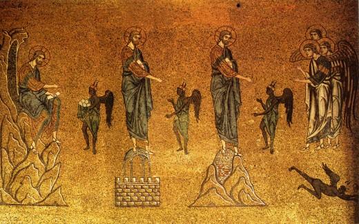 Description English: Temptation of Christ (mosaic in basilica di San Marco) Русский: Искушение Христа (мозаика собора свя. Марка (Венеция)) Date12th century