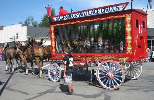 Wallace circus wagon