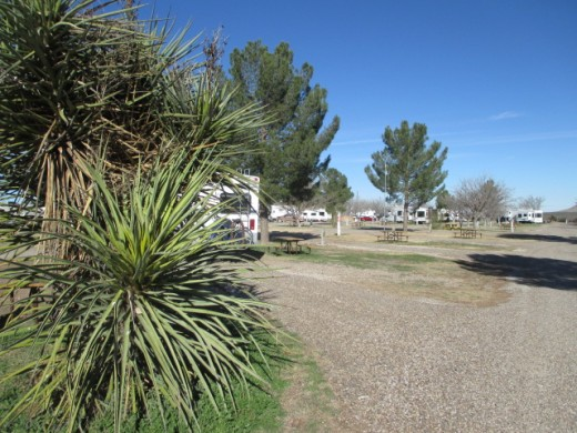 Fort Stockton RV Park.  It's a KOA, so you know it's nice.