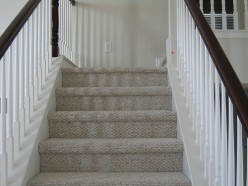 Stair Carpet Installation: Runner, Rods, and More