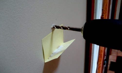 Tip 2: Drill and Sticky Note
