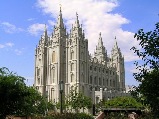 Utah, where the Mormons have their headquarters