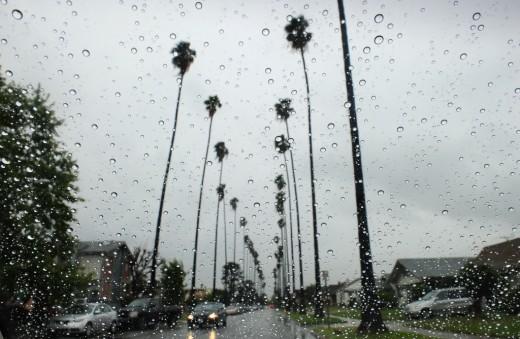 Southern California rain