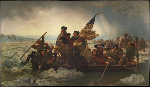 Crossing the Delaware by Emanuel Leutze (1816–1868