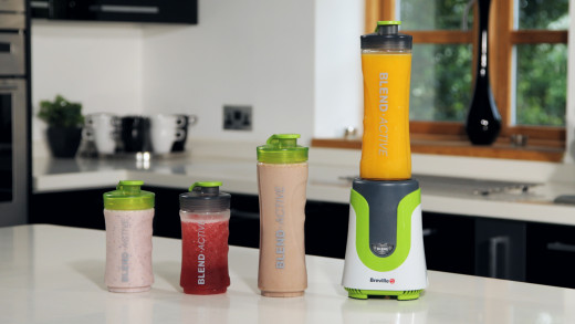 Breville Blend Active with assorted sized bottles