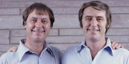 The amazing Twin Jim's separated at birth.