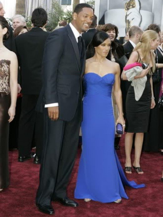 Will Smith With Actress Wife:  Jada Pinkett - Smith