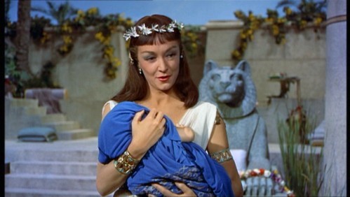 as Bithiah - the Egyptian princess who adopts Moses