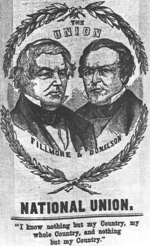 Millard Fillmore was the 13th president of the United States and the last Whig party member to hold the office. He later received the endorsement of the No Nothing movement.