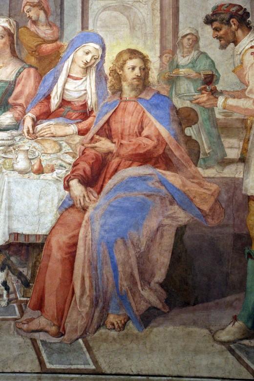 Description Bernardino Poccetti, Nozze di Cana, 1604, 01.JPG Photo by Sailko