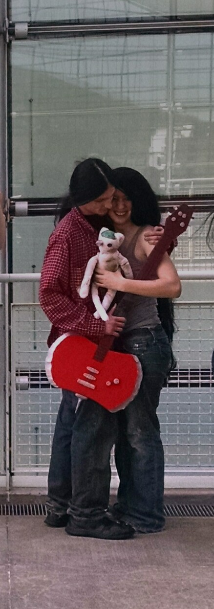 Marshal Lee and Marceline, Adventure Time, Pgh, PA 2015
