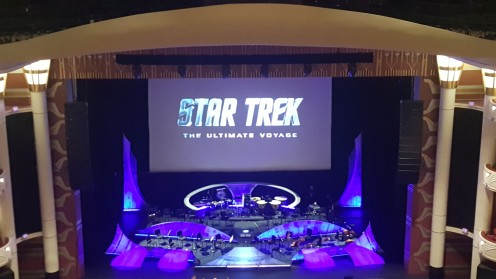 Star Trek- The Ultimate Voyage stage