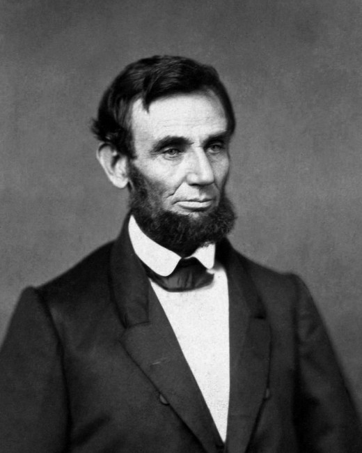 Good Ol' Abe. Notice the style of beard he wore and emulate it as best you can.