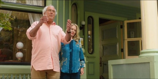 "Let's be honest.  Chevy Chase and Beverly D""Angelo only agreed to this cameo because nobody else is hiring  them at the moment in any movies.  Just saying."