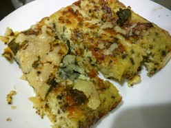 "Cauliflower Parmesean ""Bread Sticks"""