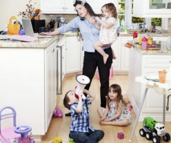 The day of a stay-at-home Mom