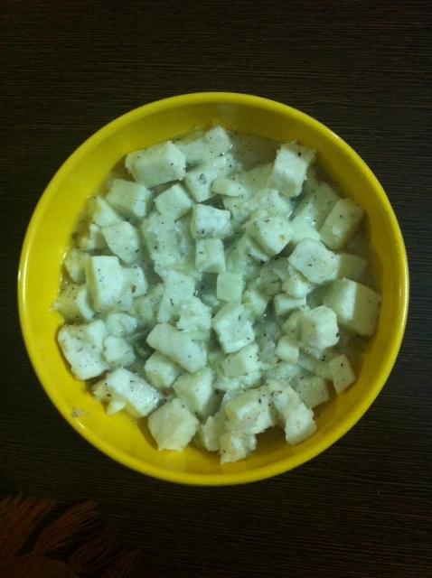Low fat, low sugar Paneer Dessert recipe