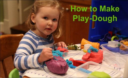 This play-dough is the best -- soft and malleable. Store it in an air-tight container and use it for weeks to come.
