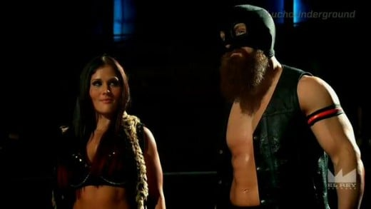 Ivelisse and Havoc during...happier times? I'm not sure