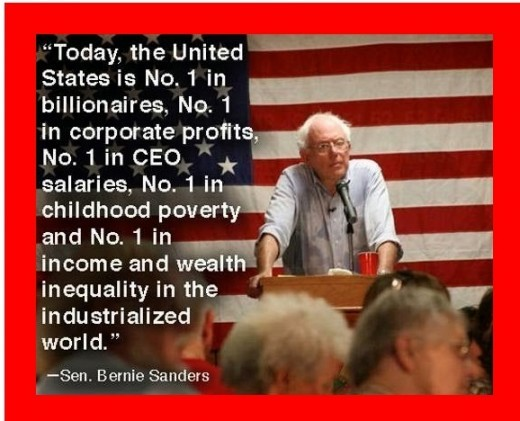 Bernie continues distributing false dichotomies