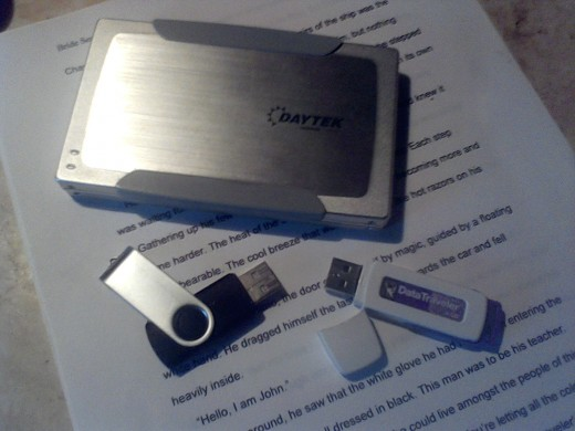 You can never have too many back-up copies on removable drives for safekeeping.
