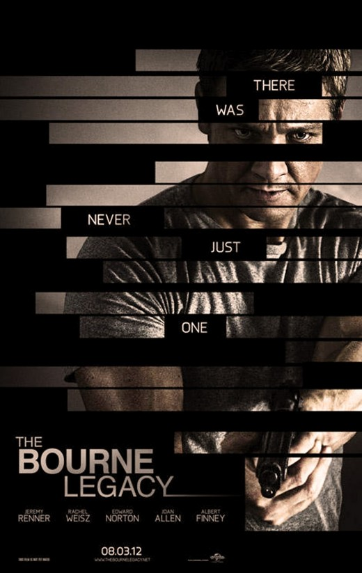 "Poster for ""The Bourne Legacy"""