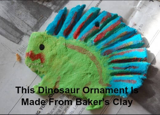 An ornament made from Baker's Clay can last for years if you protect it with varnish.